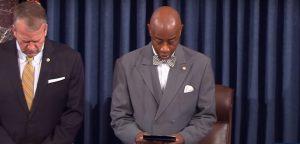 Senate Chaplain: 'Lord, surround our lawmakers…'