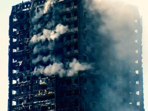 London fire: 'Miraculous' rescue