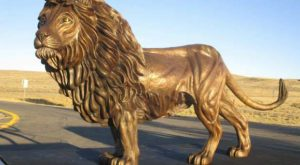 Prophetic Act? USA gives 'Lion of Judah' to Israel