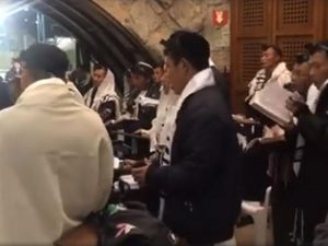 Long-lost tribe of Israel returns to pray at Western Wall