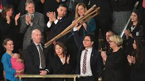Why N. Korean defector hoisted crutches over his head at State of the Union