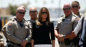 First Lady offers inspirational, faith-filled message in midst of devastation