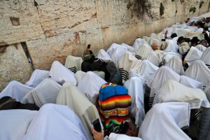 Tens of thousands attend Jewish Passover blessing at Western Wall