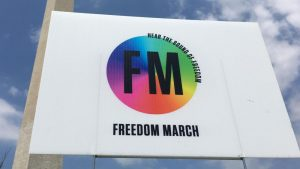 Freedom March: Once committed to the LGBT lifestyle, now free in Christ